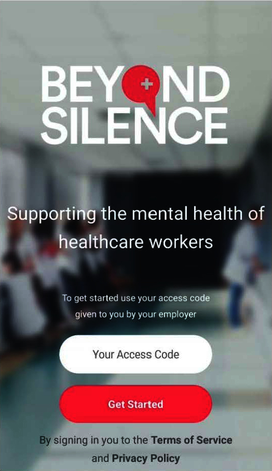 beyond silence app preview