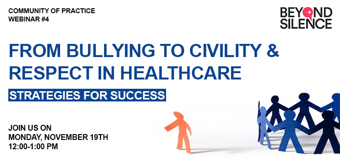 from bullying to civility and respect in healthcar
